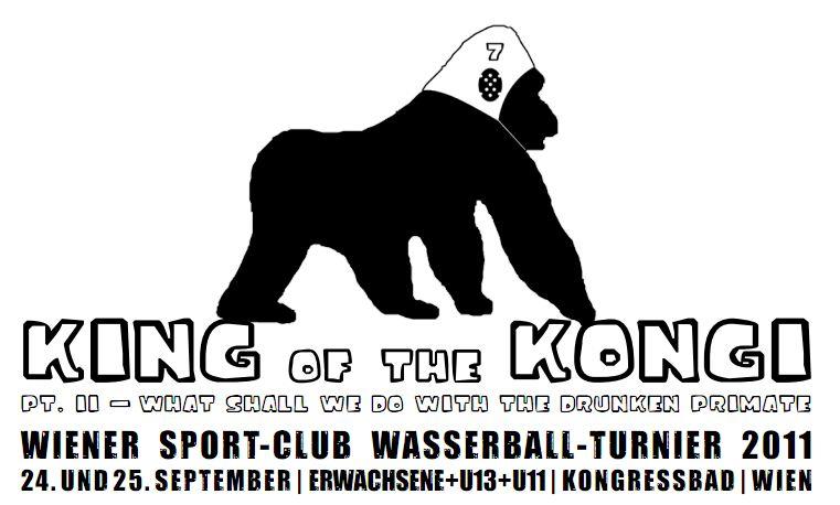 King of the Kongi - Wasserball im Kongressbad - 23.9. - 25.9.2011