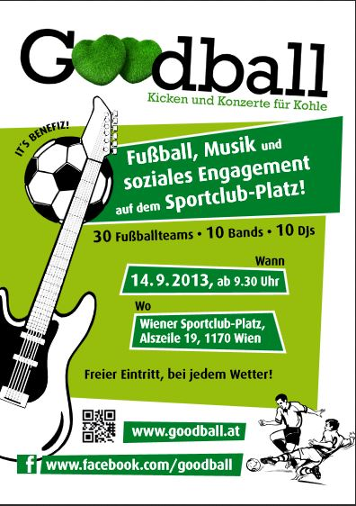 Goodball 2013 - Flyer